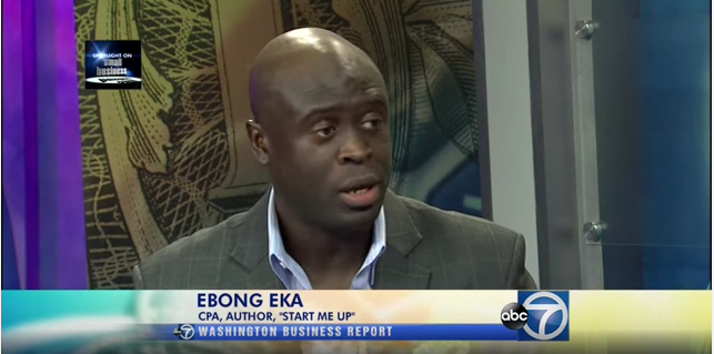 Ebong Eka on How to Start a Business on the Sideline